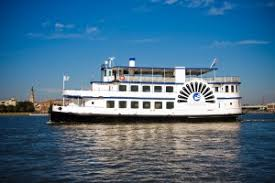 spiritline cruises fleet in charleston harbor