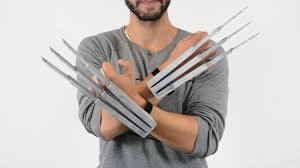 wolverine s claws 3d printed modified big wolverine claws dual by