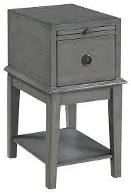 1 drawer chairside chest farmhouse side tables and end tables