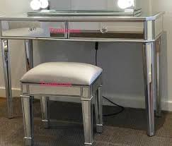 mirrored makeup vanity table 2 drawers mirrored makeup vanity table dressing table mirror