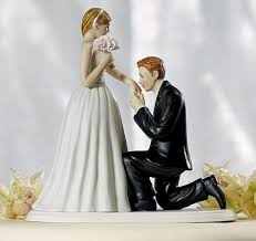 wedding cake topper propose marriage cake toppers couple cake top