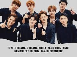 film korea yang wajib ditonton 6 web drama drama korea yang dibintangi member exo di 2017 wajib