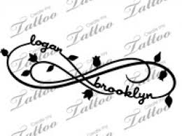 tattoo ideas with children names love kids names infinity 670 x