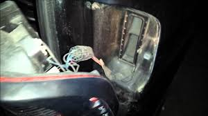 2001 isuzu rodeo brake light replacement youtube