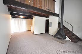 one bedroom loft apartment one bedroom loft apartment apt h suburban rentals