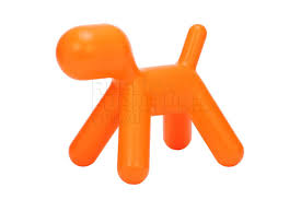 puppy dog chair orange for 99 00 5 off for members replica
