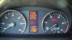 sprinter van check engine light comes on this mercedes benz tells