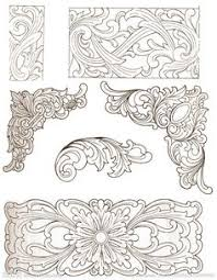 wood carving patterns can be used on leather yahoo image