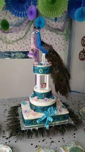 peacock baby shower the peacock baby shower cake cake by arnaldo cakesdecor