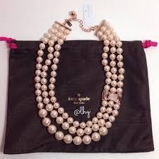 pearl rose gold necklace images 14 off kate spade jewelry sold kate spade pearl rose gold jpg