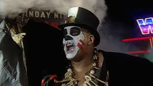 papa shango makes his way to the ring on raw wwe
