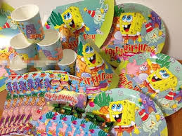luxury spongebob theme packs baby boys birthday