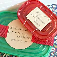 holiday treat labels share the holiday the crazy craft lady