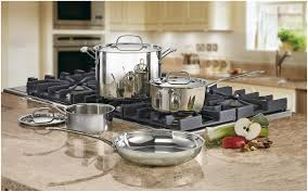 stainless steel cookware open stock u0026 sets everything kitchens