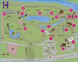 Map To Home The Hudson Gardens Garden Map