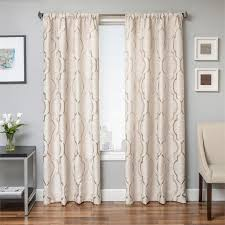 Umbra Bay Window Curtain Rod 108 Inch 119 Curtains Drapes Youll Love Wayfairca Curtain Panels