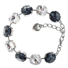 white crystal bracelet images Black and white bracelet jpg
