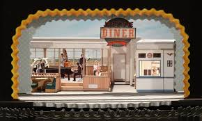 photo of set model for waitress the musical