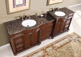 Bathroom Vanities That Look Like Furniture 90 Sink Baltic Brown Granite Top Bathroom Vanity Cabinet