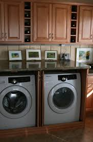 laundry in kitchen ideas hide washer dryer in kitchen a and with easy diy gathered laundry