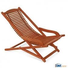 sedia sdraio giardino azalea poltrona sdraio relax pieghevole struttura legno keruing da