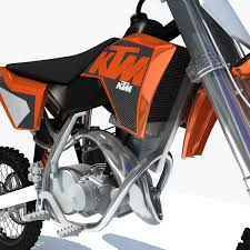 ktm motocross bikes 3d model orange ktm motocross bike cgtrader