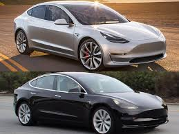 the recent spy shots of the tesla model 3 look exactly like the