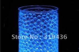 submersible led tea lights novely decoration crystal water beads pearl can match l