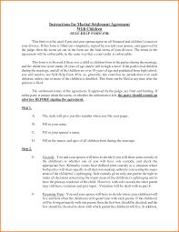 settlement template letter divorce settlement agreement sample divorce settlement agreement uploaded by adham wasim