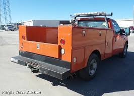 Ford F250 Truck Bed Size - 2008 ford f250 super duty utility bed pickup truck item ag