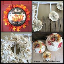 Fall Home Decor Catalogs - sunshine creations and crafts fall home decor leaves banner