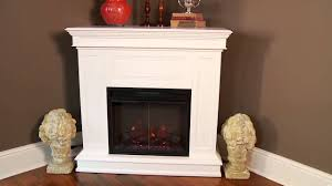 awesome corner electric fireplace u2014 the wooden houses
