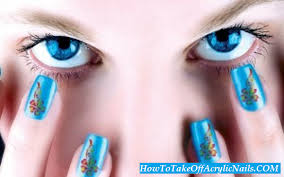how to take off acrylic nails with rubbing alcohol how to take