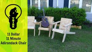 What Are Adirondack Chairs 11 Minute Adirondack Chair Build Youtube