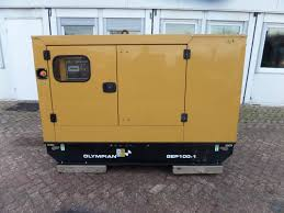 olympian gep100 1 diesel generators year of manufacture 2015