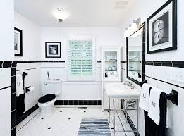 white tile bathroom design ideas black and white bathroom designs completure co