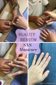 beauty review signature nail systems sns manicure