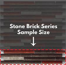 stone brick stone brick sample glass tile u0026 stone free shipping u2013 veranda