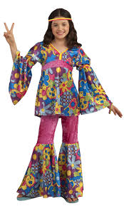 flower power girls costume costume craze flower power