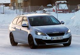 peugeot estate cars spyshots peugeot 308 sw gti the french estate autoevolution