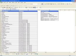 budget sheet template free printable aiyin template source