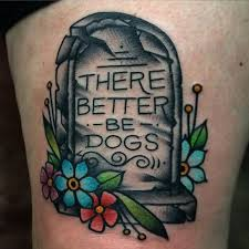 50 tombstone tattoos for memorial designs 50 tombstone tattoos