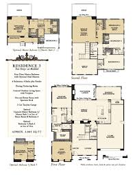 new homes at enclave rancho santa fe floor plans north county