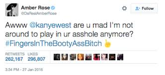 Tweet Meme - amber rose s tweet kanye west know your meme