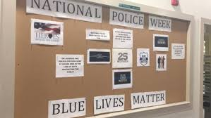 north dartmouth target black friday lines blue lives matter u0027 display vandalized by blm supporters at dartmouth
