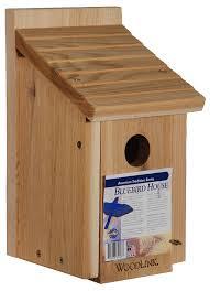 amazon com woodlink wooden bluebird house model bb1 bird