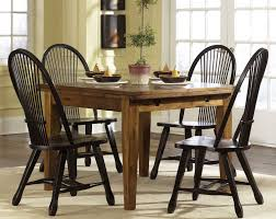 treasures extension rectangular leg dining table rustic oak by