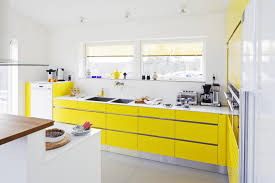 yellow and white kitchen ideas cool bright interior kitchen with many windows filled
