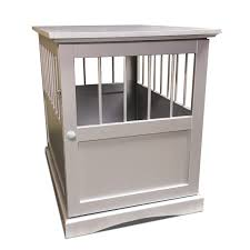 furhaven dog crate furniture end table free shipping today