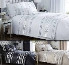 Bed Set Sale Bedroom Modern Sequin Quilt Duvet Cover Pillowcase Bedding Bed